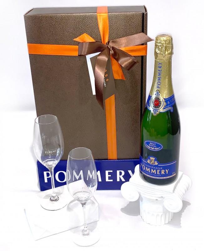 Pommery Brut Champagne (Gift Hamper)