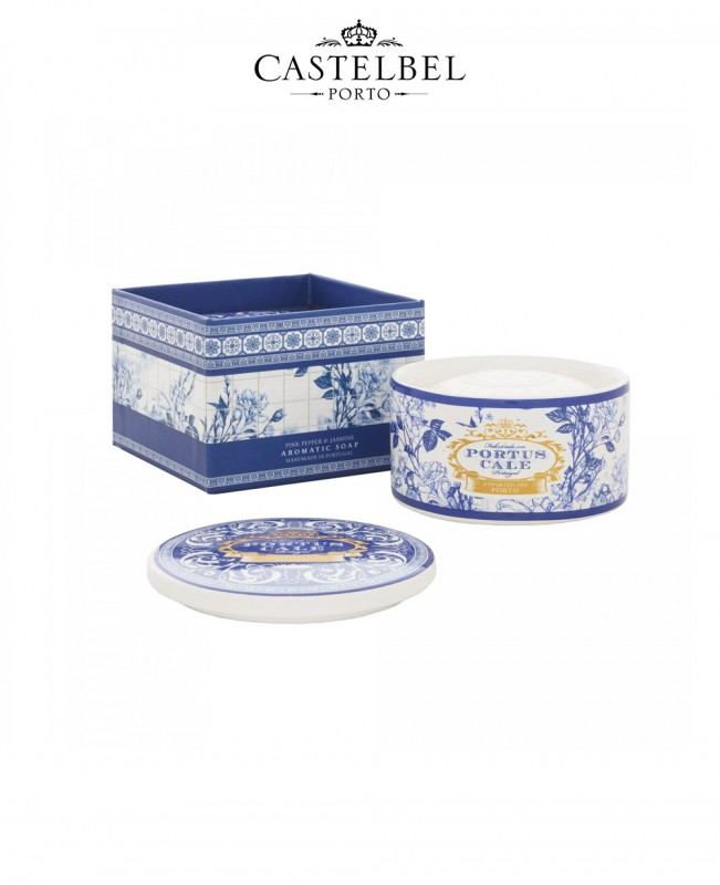 Gold&Blue 150g Soap in Jewel Box (Castelbel)