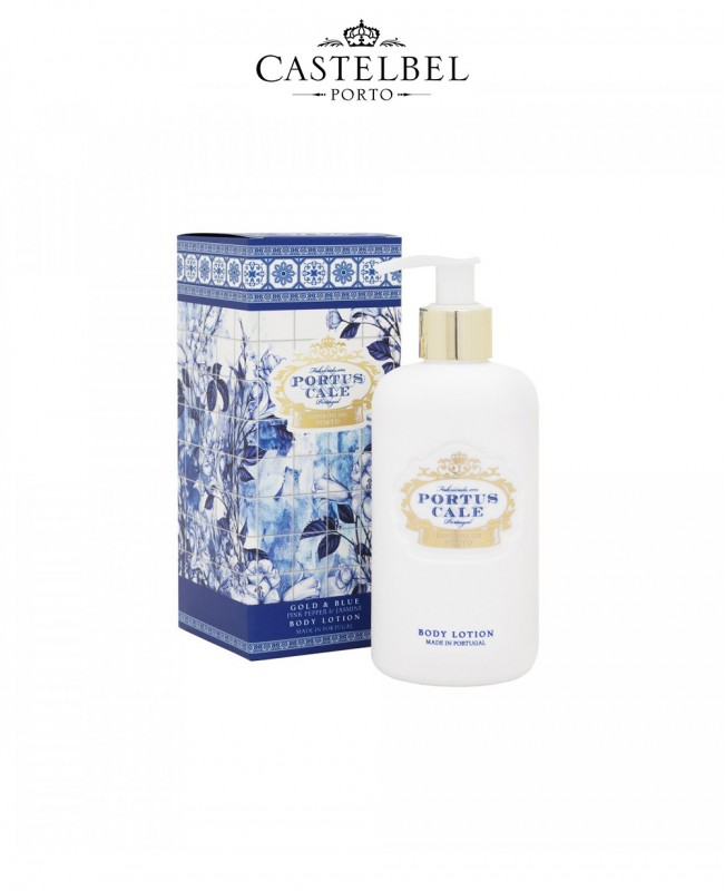 Gold&Blue 300mL Body Lotion - Boxed (Castelbel)