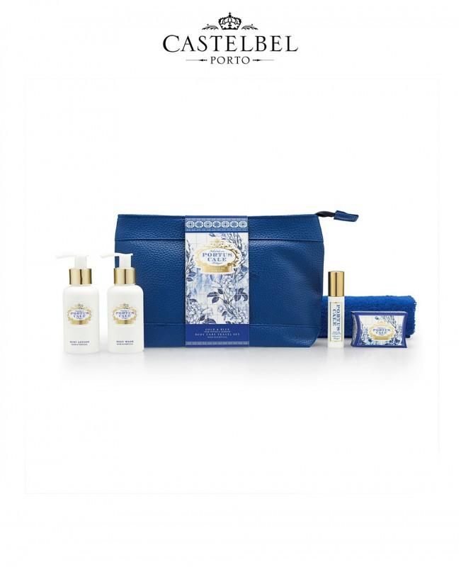 Gold&Blue Travel Set (Castelbel)