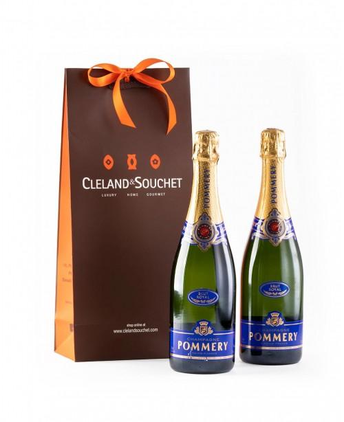 Pommery Champagne (2 Bottles)