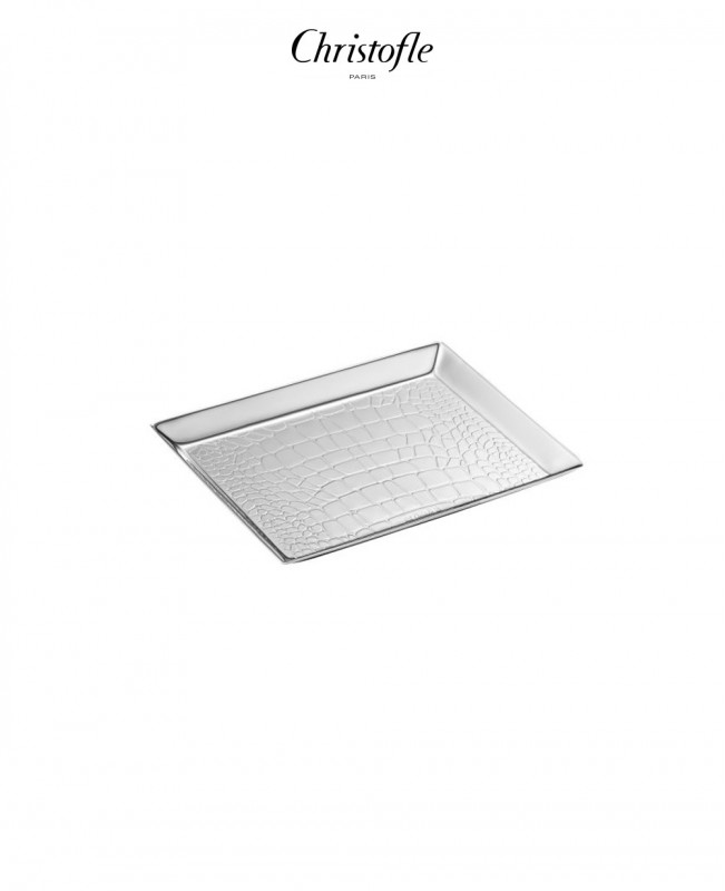 Croco D'Argent Business Card Holder (Christofle)