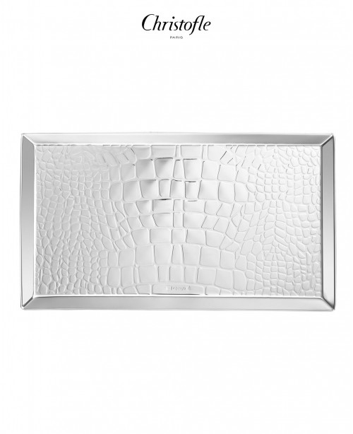 Croco D'Argent Letter Tray (Christofle)