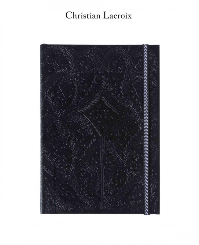 Paseo Black A5 Notebook - Christian Lacroix Papier