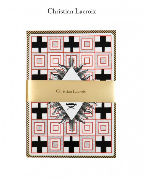Poker Face A5 Notebook - Christian Lacro...
