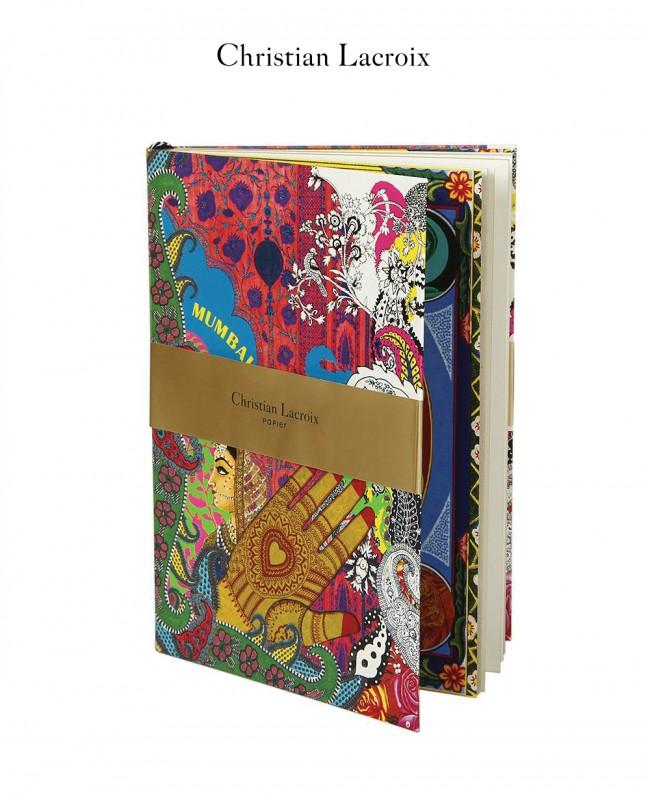 Mumbai A5 Notebook - Christian Lacroix Papier