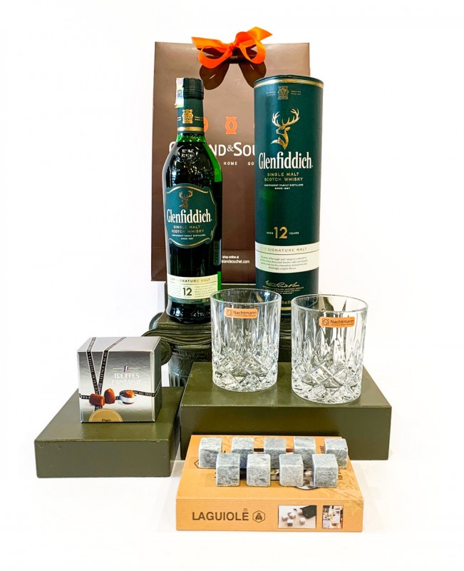 Glenfiddich Ice Whisky Set (Father's Day Gift Set)
