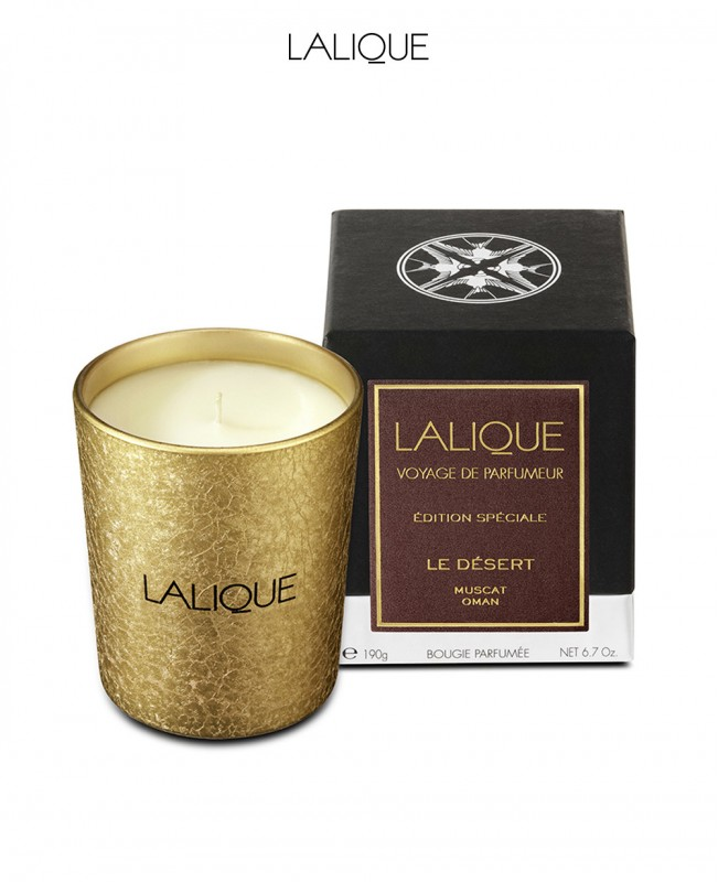 Scented Candle Special Edition - Le Desert Muscat (Lalique)