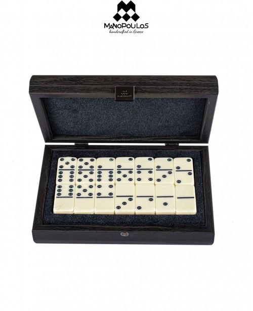 Dominoes Set in Wenghe Wooden Box (Manop...