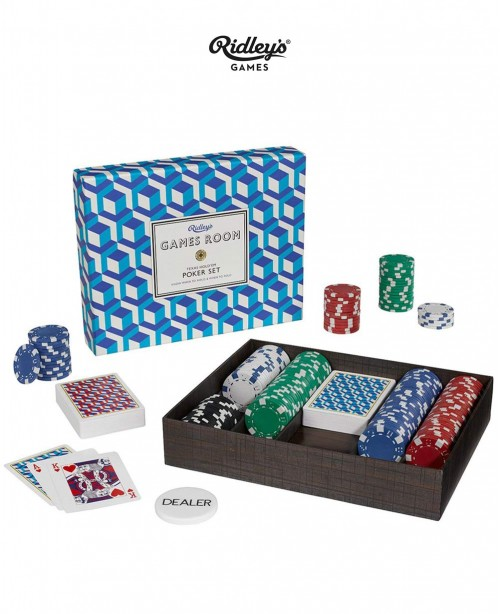 Poker Set  (Ridley's Games Room)