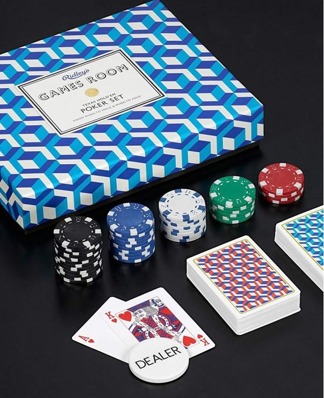 Poker Set  (Ridley's Games Room)