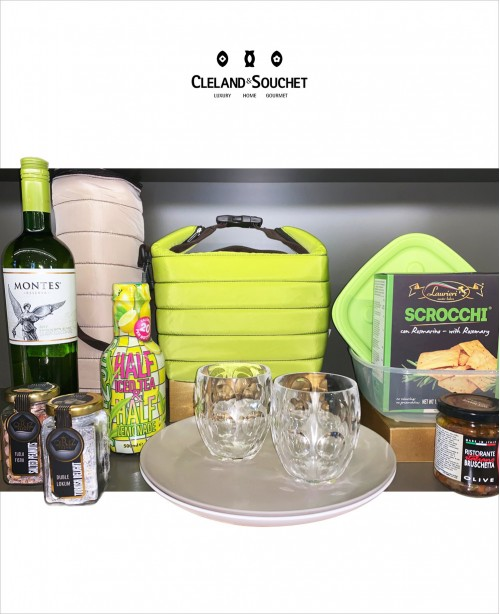 Wine Picnic Gift Hamper For 2