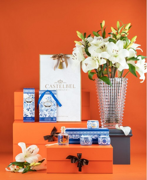 Gold & Blue Home Scent (Gift Set)