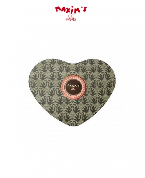 Maxim's Black Heart Tin