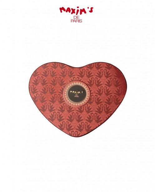 Maxim's Red Heart Tin - Chocolate & ...
