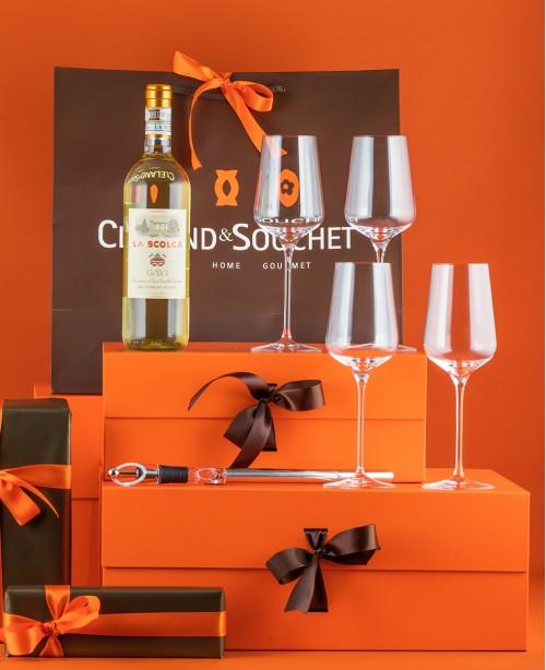 La Scolca, Glasses & Chiller (Gift S...