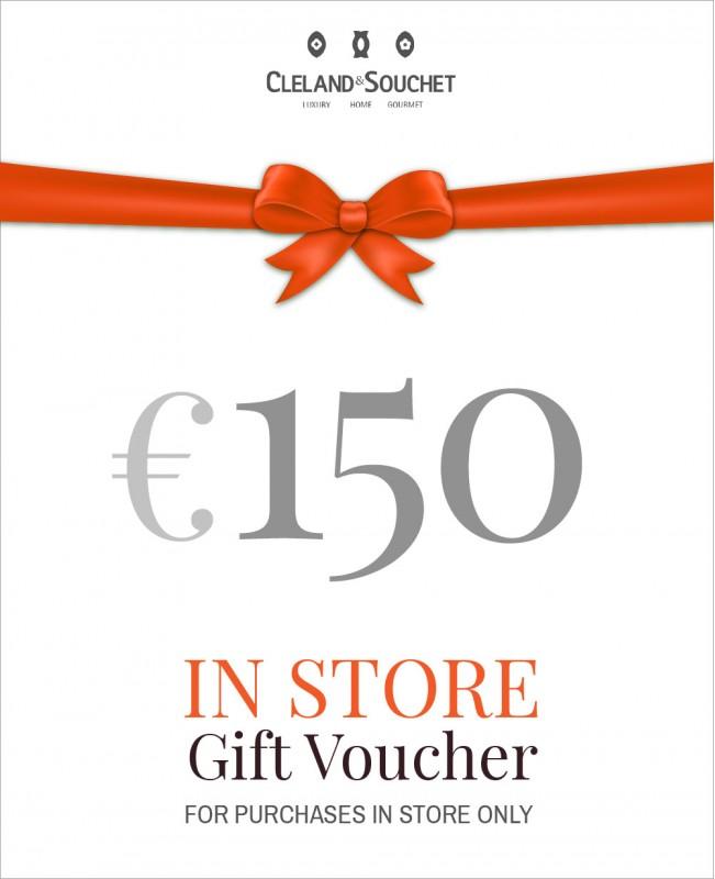 Gift Voucher €150 (In-Store)