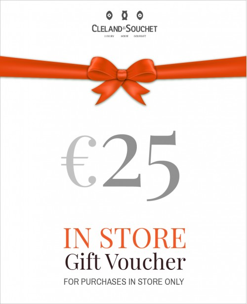 Gift Voucher €25 (In-Store)