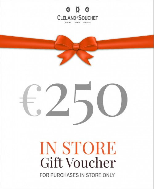 Gift Voucher €250 (In-Store)