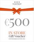 Gift Voucher €500 (In-Store)