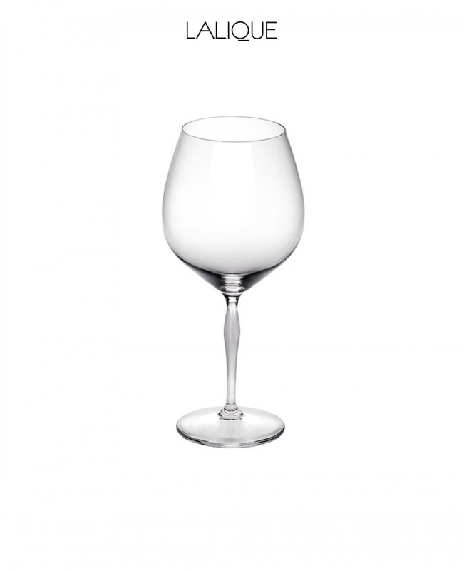 Burgundy Crystal Glass (Lalique)