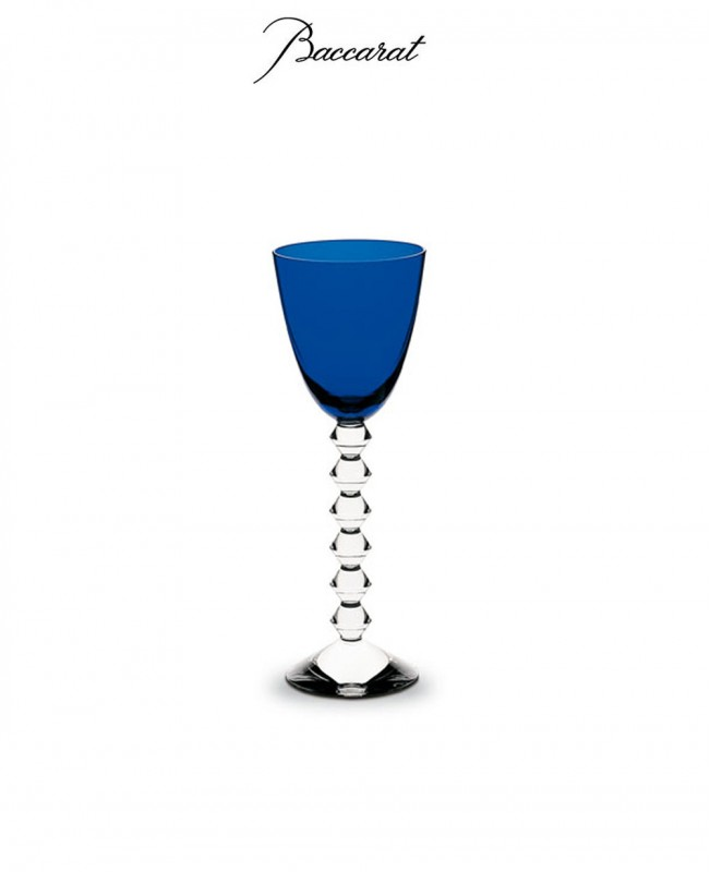 Vega Wine Glass -  Midnight Blue (Baccarat)