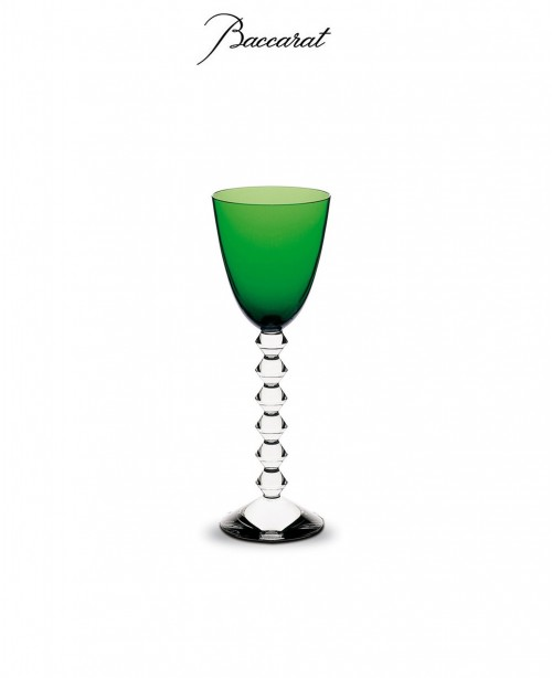 Vega Wine Glass -  Green (Baccarat)