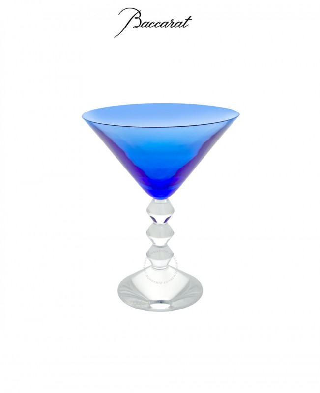 Vega Martini Glass - Blue (Baccarat)