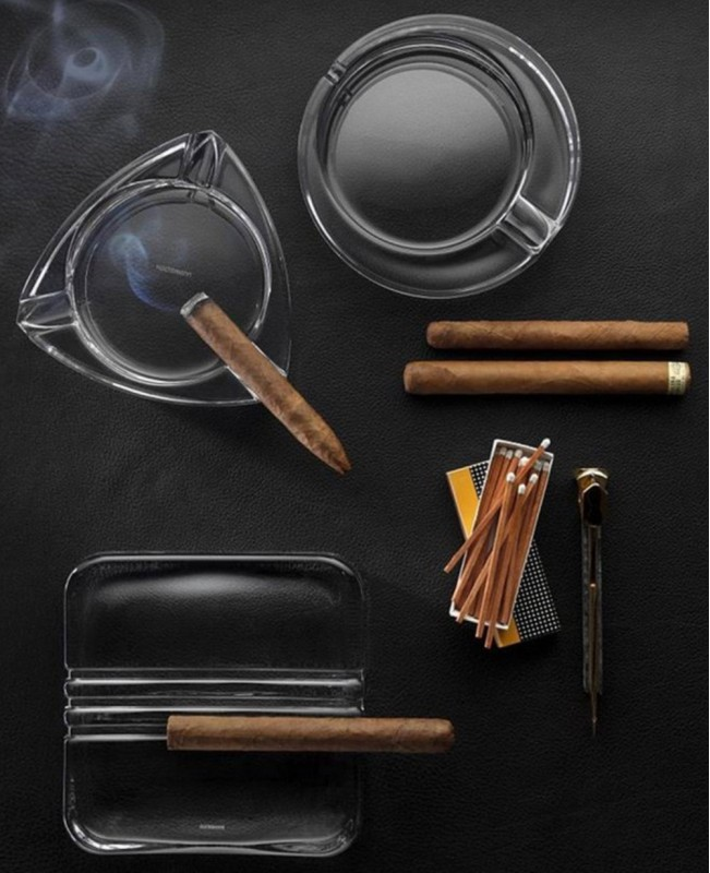 Round Cigar Ashtray (Nachtmann)
