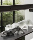 Zeila Panther Crystal Sculpture -  Small...
