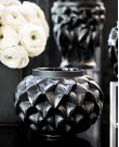Languedoc Black Crystal Vase - Small (La...
