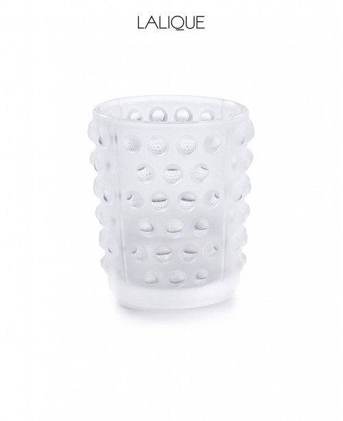 Mossi Clear Crystal Votive (Lalique)