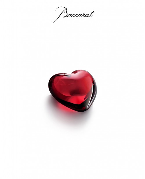 Ceour - red heart (Baccarat)
