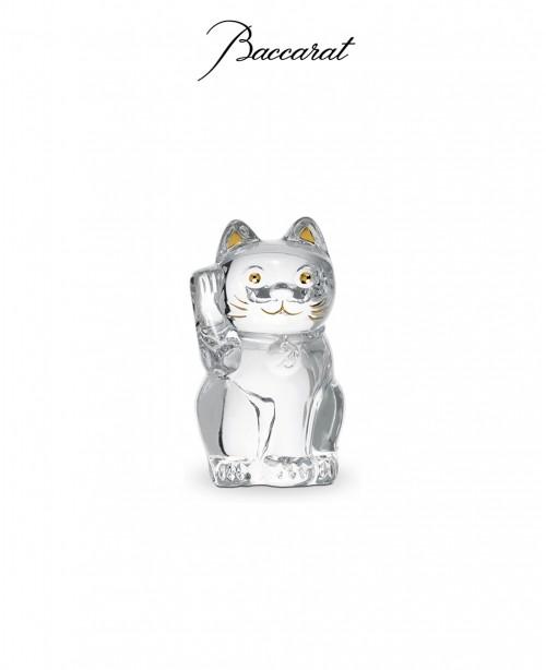 Maneki Cat Clear (Baccarat)
