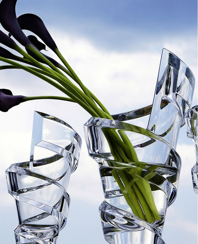 Spirale Vase Small (Baccarat)