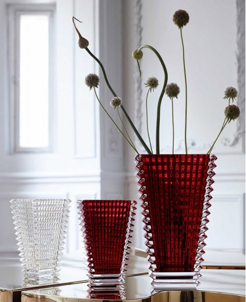 Eye Vase Red Small (Baccarat)