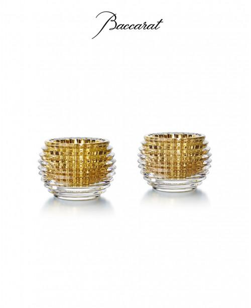 Eye gold votives (Baccarat)