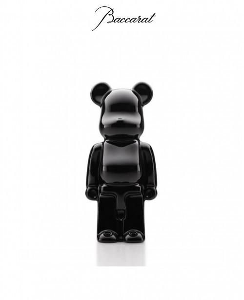 Standing BearBrick 140 - Black (Baccarat...