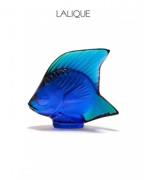 Blue Aquatic Animals (Lalique)