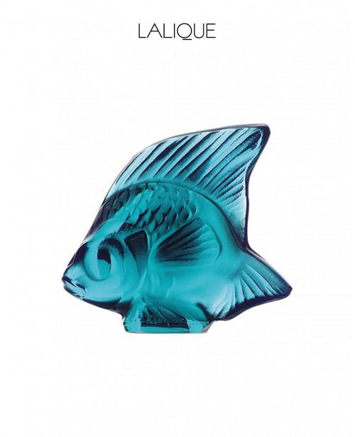 Turquoise Aquatic Animal (Lalique)