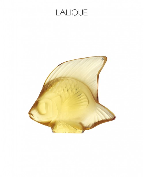 Gold Aquatic Animal (Lalique)