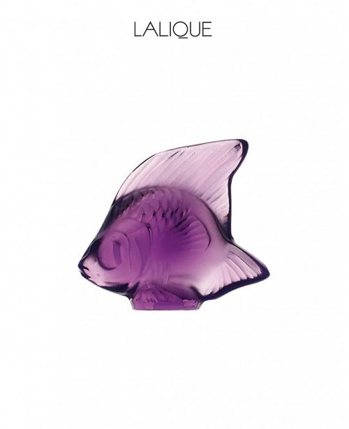 Violet Aquatic Animal (Lalique)
