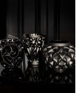 Tourbillons Black Crystal  Vase - Small ...
