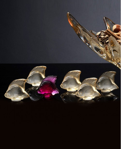 Fish Crystal Sculptures - Small (Lalique...