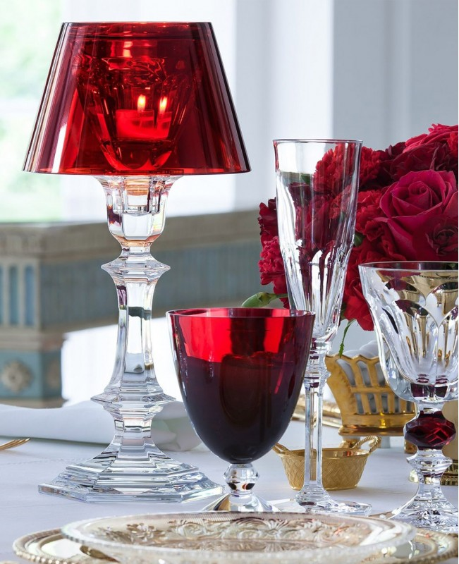 Harcourt Our Fire Candle Stick by Philip Starck (Baccarat)