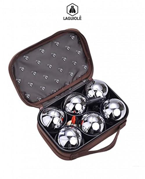 Petanque Set of 6 Bowling Balls (Laguiol...