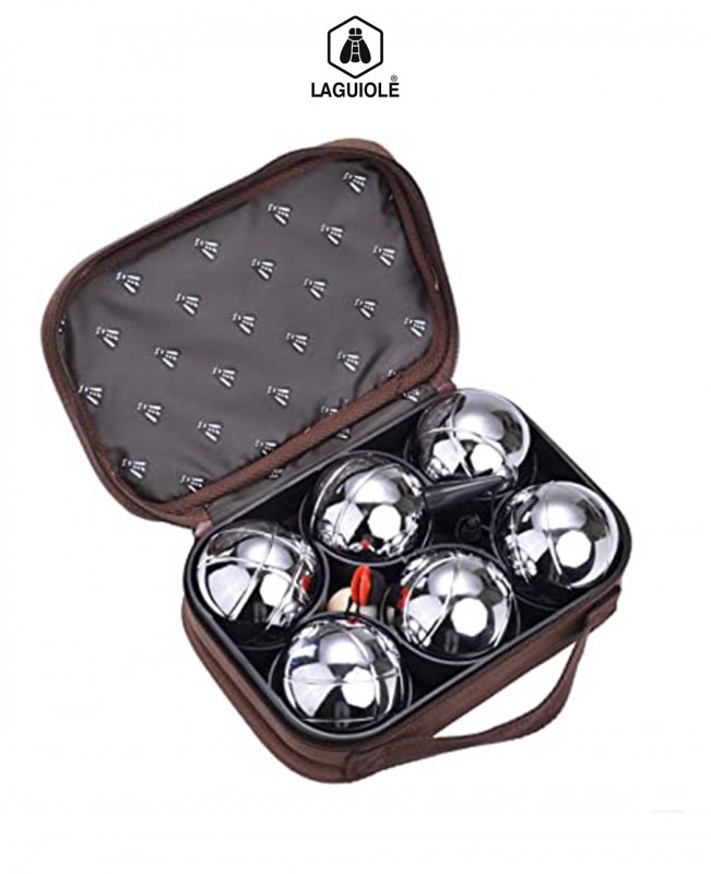 Petanque Set of 6 Bowling Balls (Laguiole)
