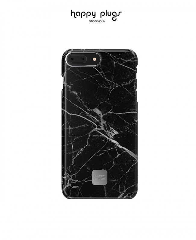 Phone Cover Iphone 7 / 8 Plus Black Marble (Happy Plugs)
