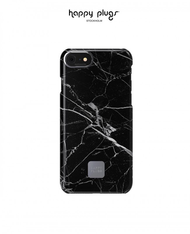Phone Cover Iphone 7 / 8 Black Marble (Happy Plugs)
