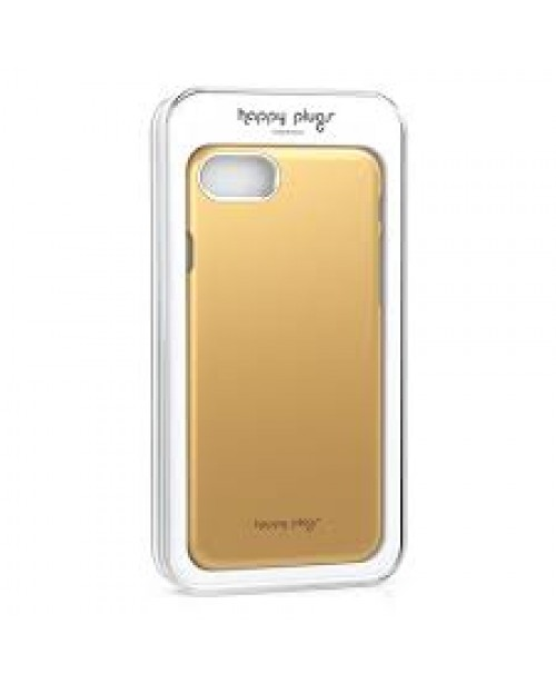 Phone Cover - Iphone 7 Gold (Happy Plugs...